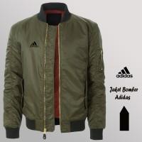 Jaket Bomber Parasut Army Adidas