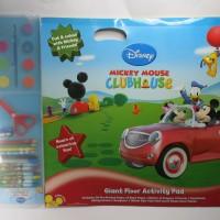 Buku Gambar dan Aktivitas - Mickey Mouse Giant Floor Activity Pad