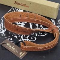 [NEW] Handstrap MADA 1432 Leather HS Sympul (Brown) @Gudang Kamera Mlg