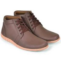 Sepatu Low Boots Pria  coklat Java Seven HAB 002 original cibaduyut