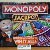 Jual ORIGINAL Monopoly Mono Poly Monopoli Jackpot Jakpot Casino Hasbro ORI Murah