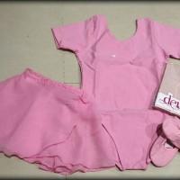 harga Baju Ballet - 1 Set Full (baju Tangan Pendek, Rok, Stocking, Sepatu ) Tokopedia.com