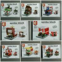 Jual Lego Sembo Block Mini City - ECER Murah