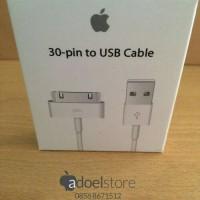 charger kabel cable data 30-pin ipod ipad iphone 3G 3Gs 4 4s Original