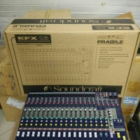 Mixer Soundcraft EFX 16 / EFX16 (Full 16 Mono) Audio Sound System