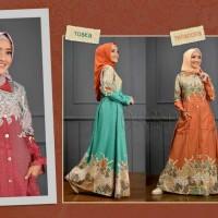 Gamis Wanita MAHESWARI DRESS Busana Muslim By Oribelle