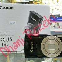 Kamera Digital Pocket CANON IXUS 185 KAMERA 20 MP WARNA HITAM