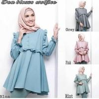DEA BLOUSE - baju kerja wanita model terbaru termurah - blouse tunik