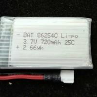 Baterai Syma X5 X5C X5SW 3.7V 720mAh Mini FPV Drone LiPo Battery Pack