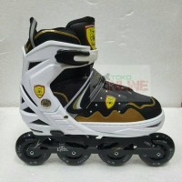 Sepatu Roda LYNX SC70 Recreational Inline Skate - Black Gold 1a90f02c6c