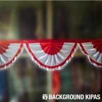 Jual Grosir Bendera Indonesia Merah Putih Begrond Kipas Murah