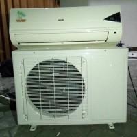 Ac merk AUX 3/4 pk murah,terima dingin dan bergaransi