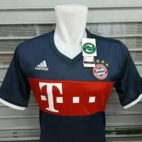 Jersey Bola Bayern Munchen Away New 17/18 Grade ORI