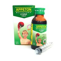 appeton multivitamin lysine syr 60ml. exp.feb 2019