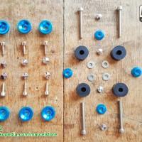 Jual Paket Karet Spacer & Baut Body Yamaha NMAX Murah