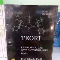 Teori VSEPR Kepolaran Dan Gaya AntarMolekulEdisi 3-Prof Efendi