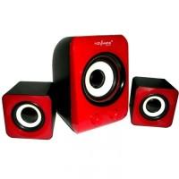 Advance Multimedia Speaker Duo-100 - Merah