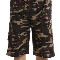 [Valatex] Celana pendek cargo Leopard / nyaman dipakai / 4 warna