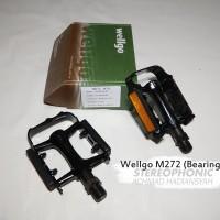 TERMURAH! Pedal Bearing WELLGO M272 Pedal WELLGO Bearing Pedal Sepeda