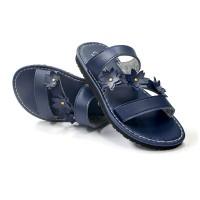 Sandal Wanita / Sandal Flat Wanita / Daimatu Female Chantiq  / Blue