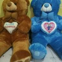 Jual Teddy Bear Raksasa 150cm custom nama Murah