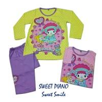 SWEET PIANO SWEET SMILE Baju tidur/piyama anak Cewek Prod Anne Claire