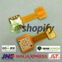 Jual Double dual SIM Card adapter Converter for Nano SIM Card Murah