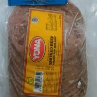 smoked beef daging sapi iris asap yona.