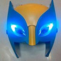 Jual Terlaris   Topeng Wolverine X-Men Lampu  Murah Murah