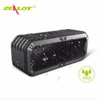 Jual HD ZEALOT Bluetooth Speaker Waterproof Power Bank 5200mAh - S6 FU Murah