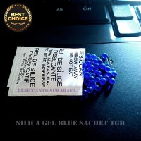HOT DEALS!!! Silica Gel Biru 1gr | Paket 1200gr