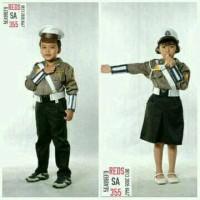 Baju polisi anak/Seragam polisi anak