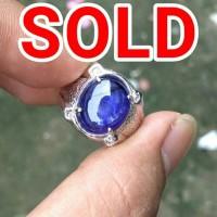 [PERAK] Natural Royal Blue Sapphire / Saphire / Safir