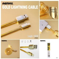 Remax Kingkong LIGHTNING Gold Edition Original Fast Data Cable / kabel