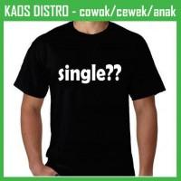Kaos Kata Single KB68 Oblong Distro