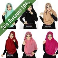 Hijab Instan Jilbab Simple Pashmina Instant Athalia Diamond