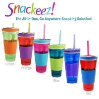 Jual Snackeez 2 in 1 Tumbler ~ All In One Snack Cup ~ As Seen On TV Murah