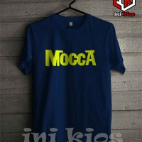 T-SHIRT/BAJU/KAOS/BAND MUSIC MOCCA SIMPLE KEREN- INIKIOS