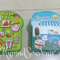 Tempat Makan Murah/ Souvenir Ultah Lunch Box/ Kotak Makan Bread