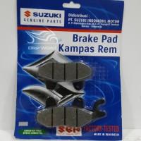 Kampas Rem Depan Smash, Satria FU 59100-21850L000 Suzuki Genuine Parts