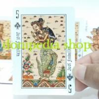 Kartu Remi Wayang Bali ~ Playing Card Cards Mainan Unik Cinderamata