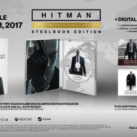 PS4 HITMAN THE COMPLETE FIRST SEASON STEELCASE EDITION REG 2 ENGLISH