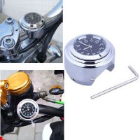 "Universal 7/8"" to 1"" Motorcycle Handlebar Mount Watch Clock for Halley"