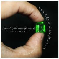 Jual Zamrud Kalimantan (Shape Octagon) Murah