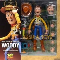 ORIGINAL ASLI 100% Revoltech Woody Toy Story Kaiyodo ORI
