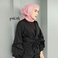 jual hijab segi empat organdi/organza/square/jilbab/hijab