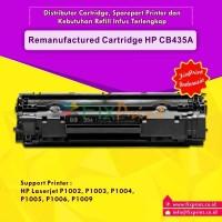 Remanufactured / Compatible Toner Cartridge HP CB435A/ 35A HP Laserjet P1002 / P1003 / P1004 / P1005 / P1006 / P1009