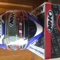 Helm Full Face NHK GP 1000 ULtra  X-Vision Blue Not GM/ KYT/ INK/ ZEUS