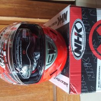 Helm Full Face NHK GP 1000 Red Solid not KYT/ INK/ ZEUS/ GM