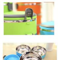 Jual Koleksi terbaru Rantang Stainless Steel 1 Susun, Kotak Makanan, Lunch Murah